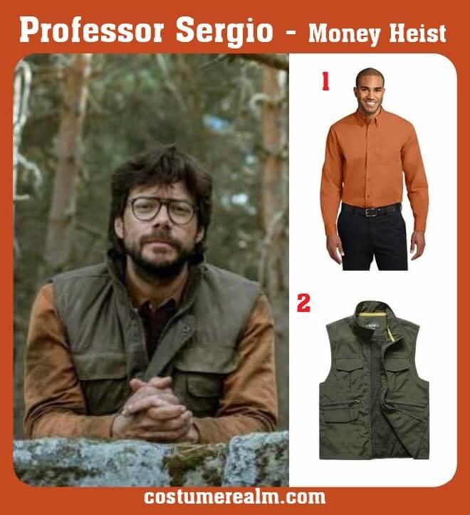 Professor Sergio Outfits
