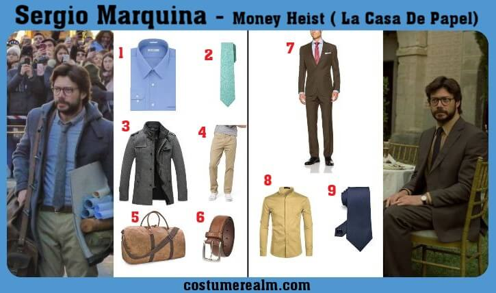 Sergio Marquina Outfit