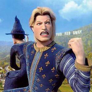 Shrek Prince Charming Halloween Costume