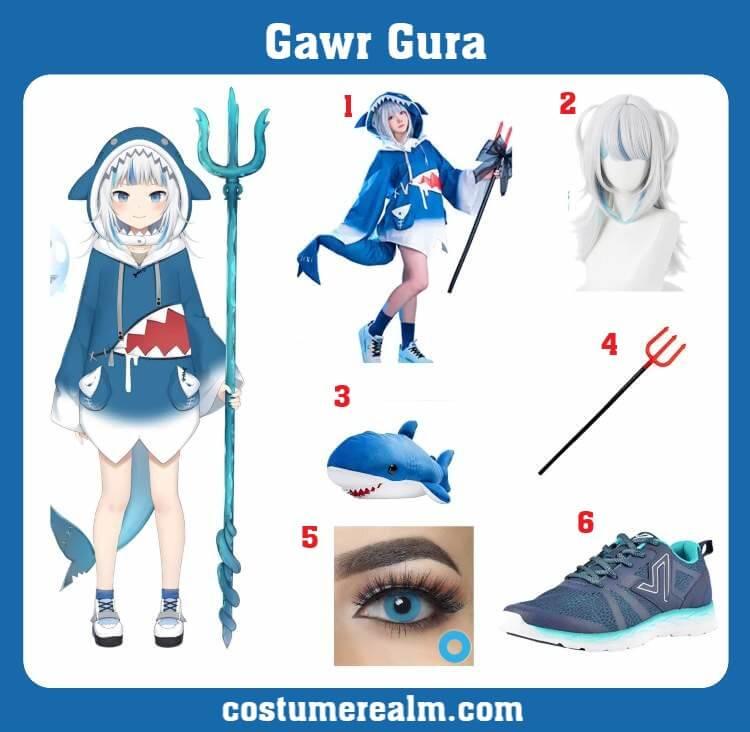Gawr Gura Costume