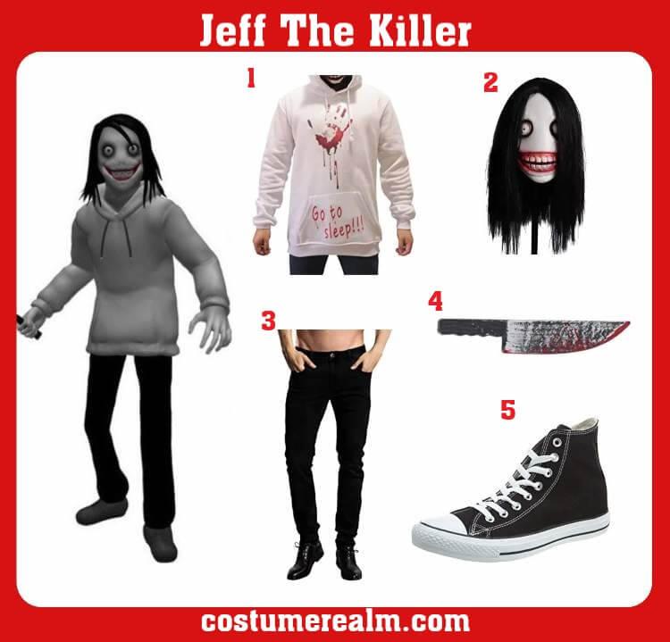 Jeff The Killer Costume