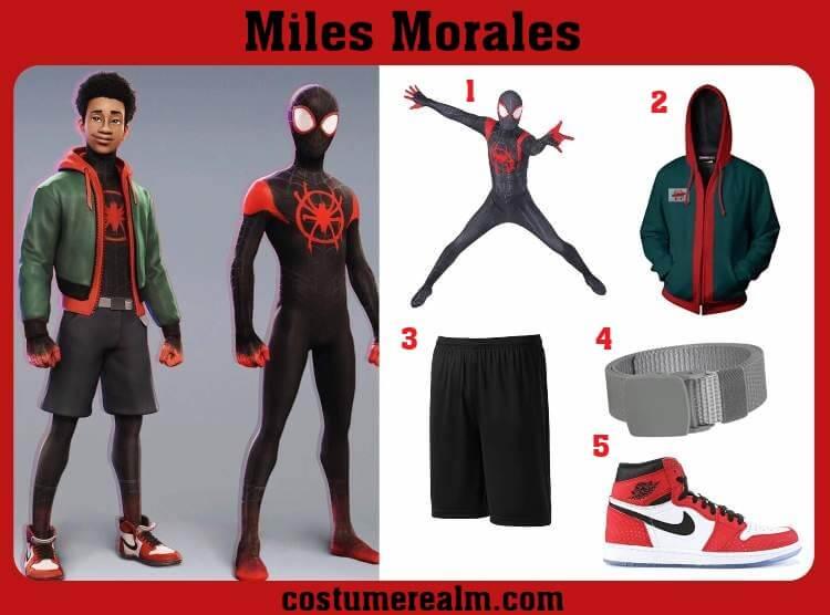 Miles Morales Costume