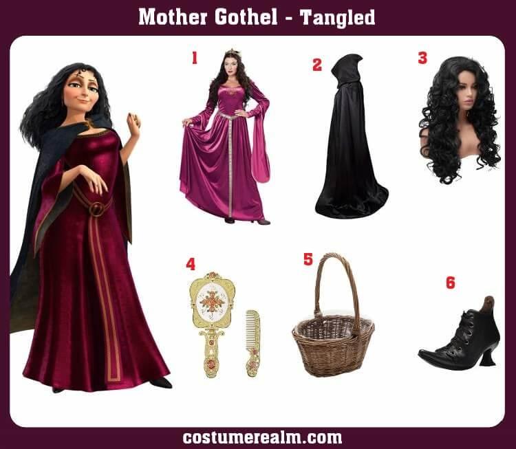 Mother Gothel Costume