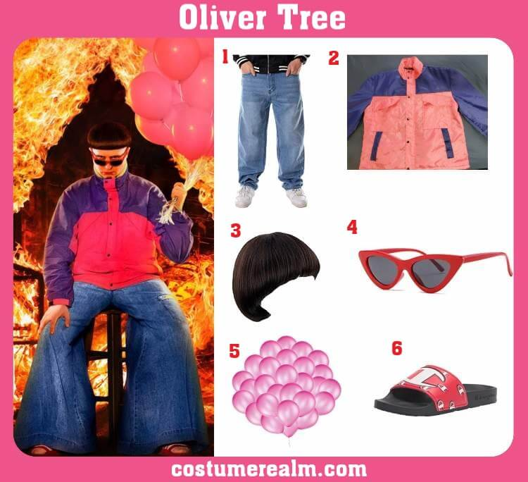 Oliver Tree Costume