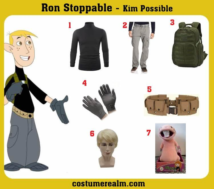 Ron Stoppable Costume