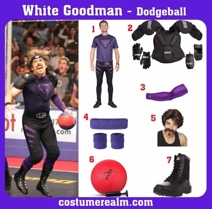 White Goodman Costume