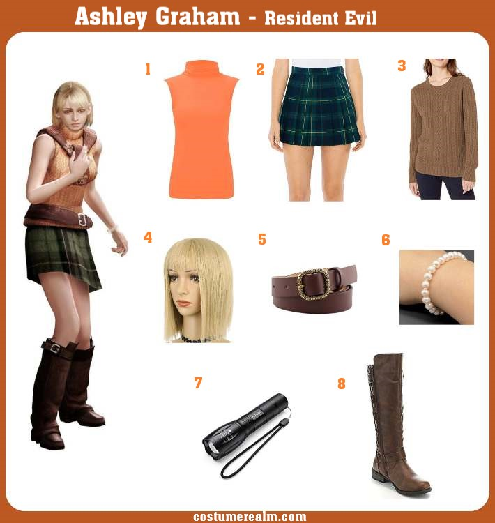 Ashley Graham Costume