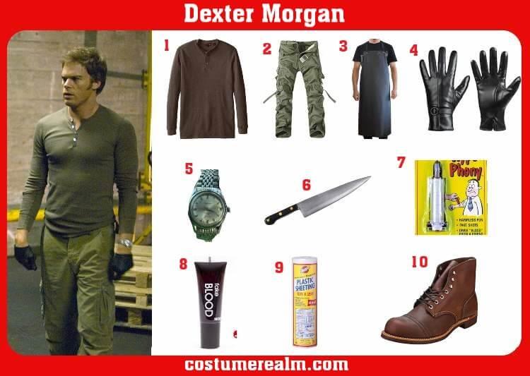Dexter Morgan Costume