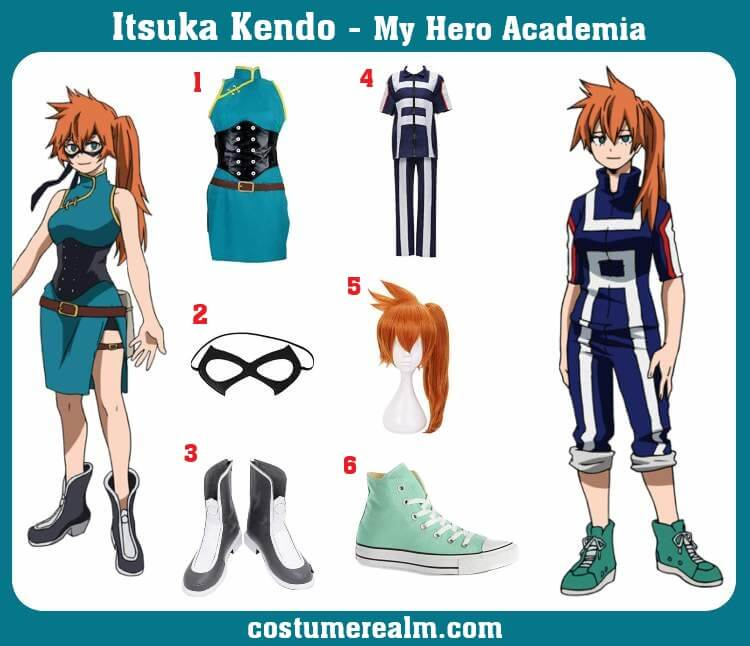 Itsuka Kendo Costume