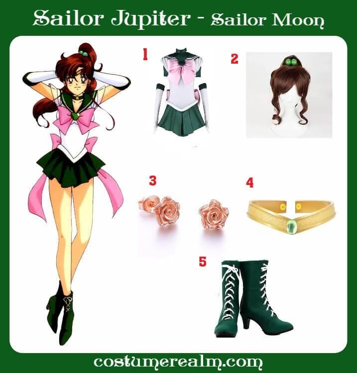 Sailor Jupiter Costume