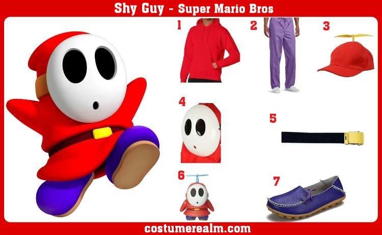 Shy Guy Costume