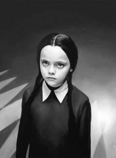 Wednesday Addams Halloween Costume