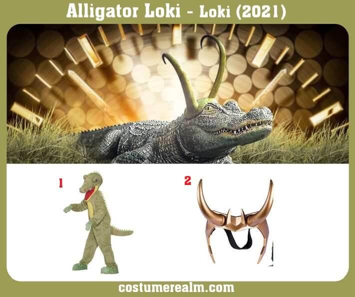 Alligator Loki Costume