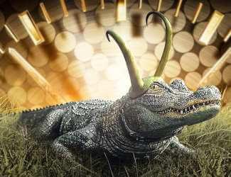 Alligator Loki Halloween Costume