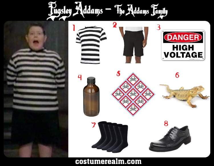 Pugsley Addams Costume
