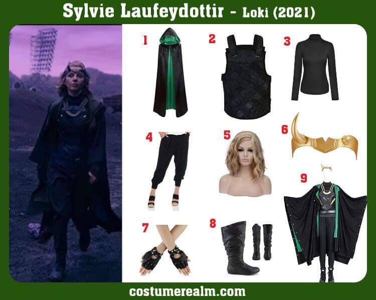 Slyvie Costume