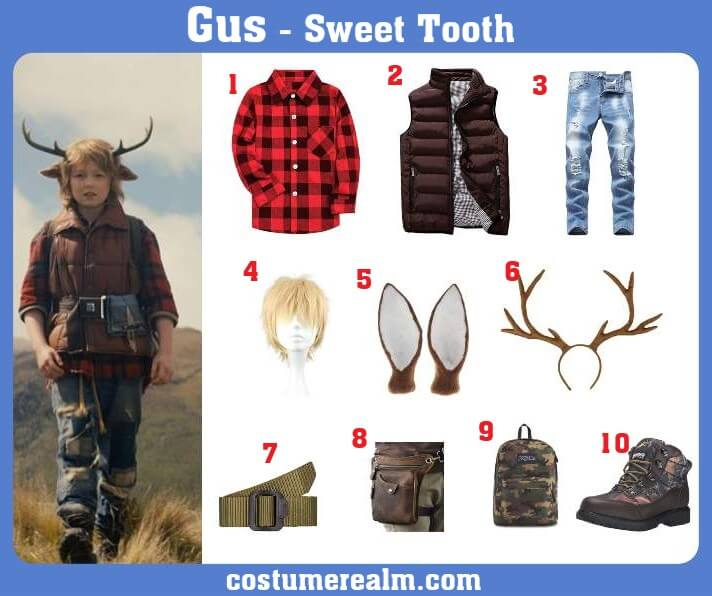 Sweet Tooth Gus Costume