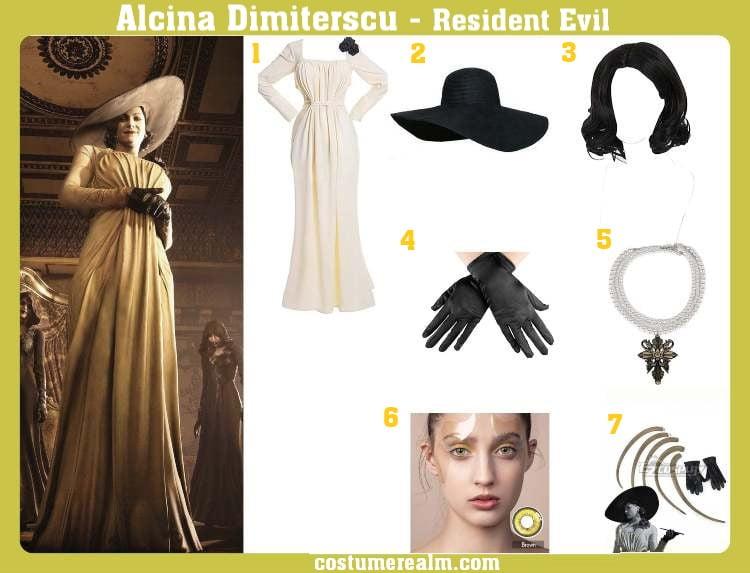 Alcina Dimitrescu Costume