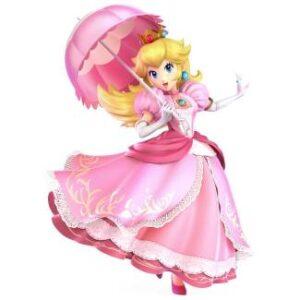Princess Peach Outfits