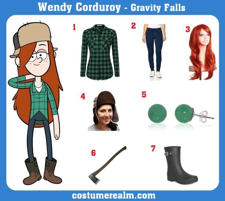 Wendy Corduroy Costume
